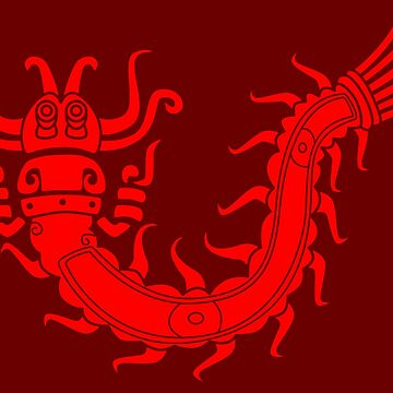 Mayan centipede by Gwendal