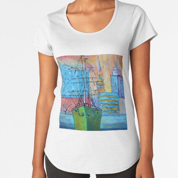 Elbphilharmonie Hamburg Premium Scoop T-Shirt