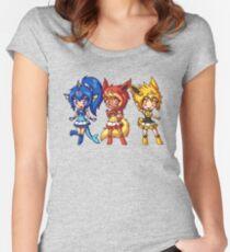 Gen 1 Eeveelution Squad Women's Fitted Scoop T-Shirt