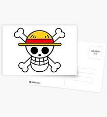 Logo: Monkey D. Luffy   ONE PIECE Postcards