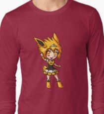 Jolteon Magical Girl Chibi Long Sleeve T-Shirt