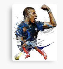 Mbappe Poster Canvas Print