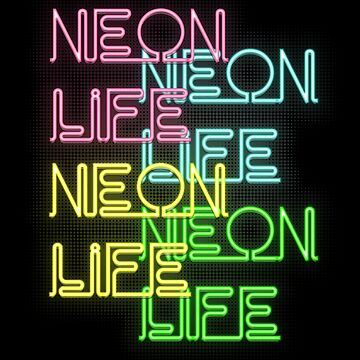 Neon Aesthetic Life by Switch01