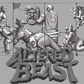 ALTERED BEAST - CLASSIC ARCADE (V2) by SUNSET-STORE