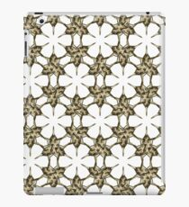 Cactus Spine Pattern - Succulent Geometric Shapes - Cactus Botanic Pattern - Sharp & Spiny Design iPad Case/Skin