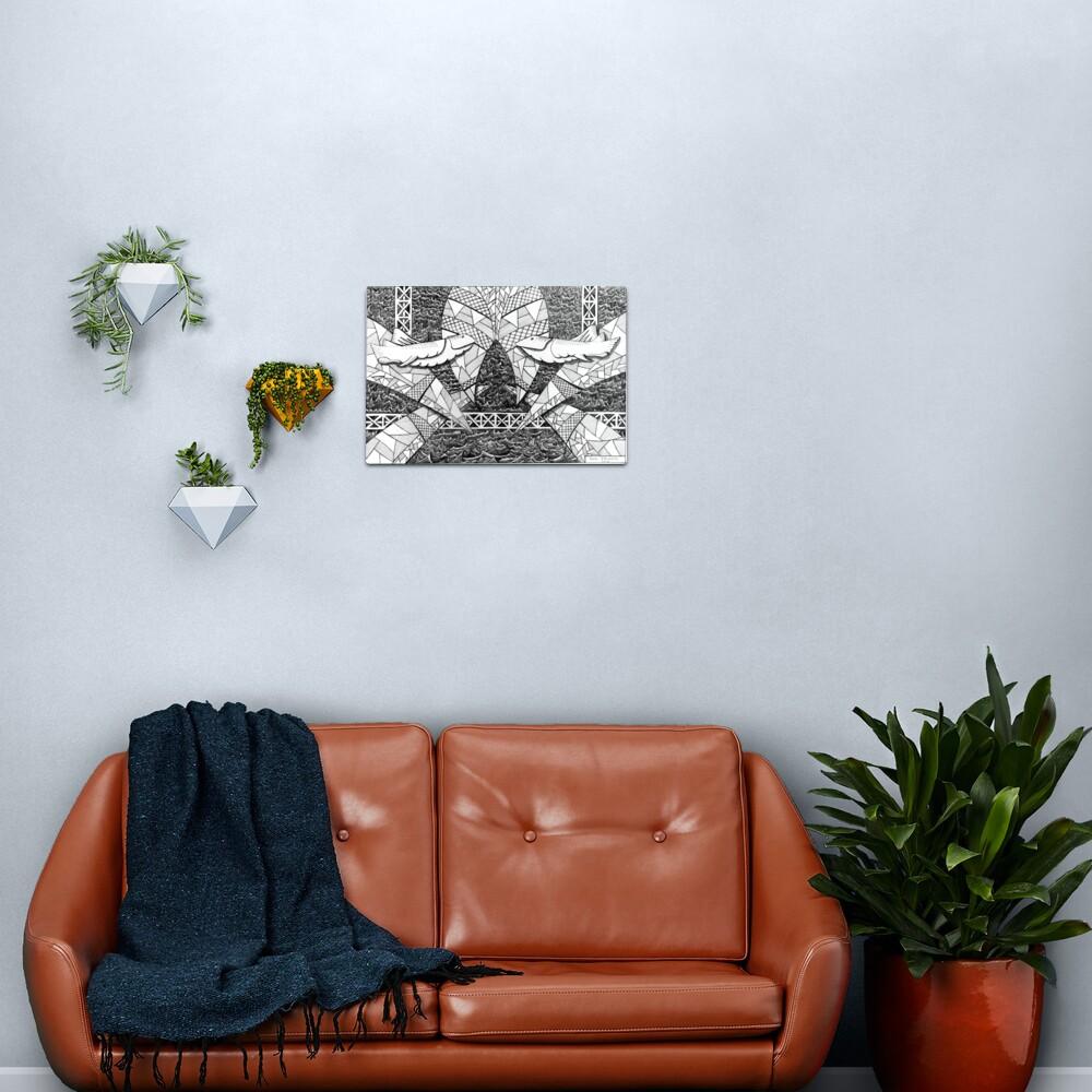 273 - SHARK DESIGN - DAVE EDWARDS - INK - 2018 Metal Print