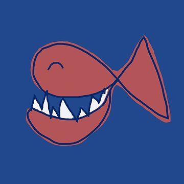 SMILING FISH - HERD OF SMILING FISH by NYWA-ART