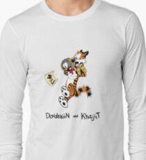 Dovahkiin and Khajiit We Know T-Shirt