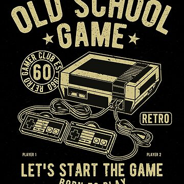 Old School Game by linkaiwen