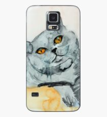 Fat Cat Case/Skin for Samsung Galaxy