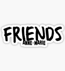 friends anne marie Sticker