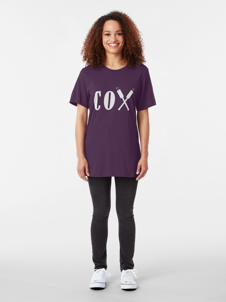 Alternate view of Cox Oars Slim Fit T-Shirt