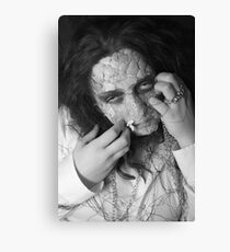 Finding my face Canvas Print