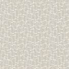 Beige / Light Warm Gray Retro Geometric Pattern by itsjensworld