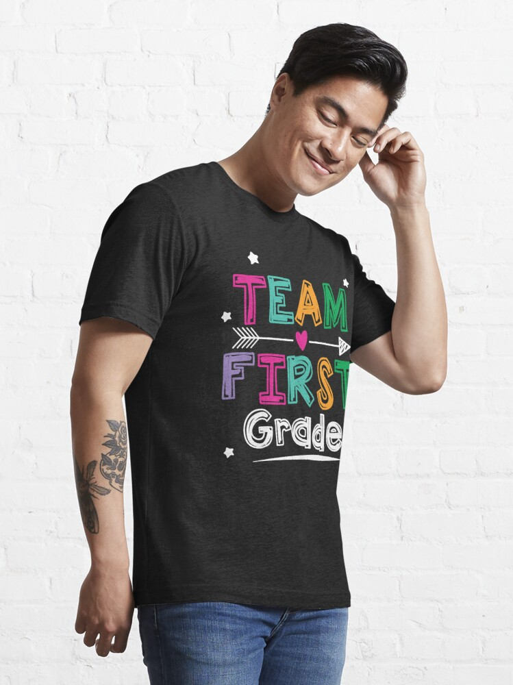 Alternate view of Team First Grade Teacher and Students 1st Grade Crew T-Shirt Essential T-Shirt