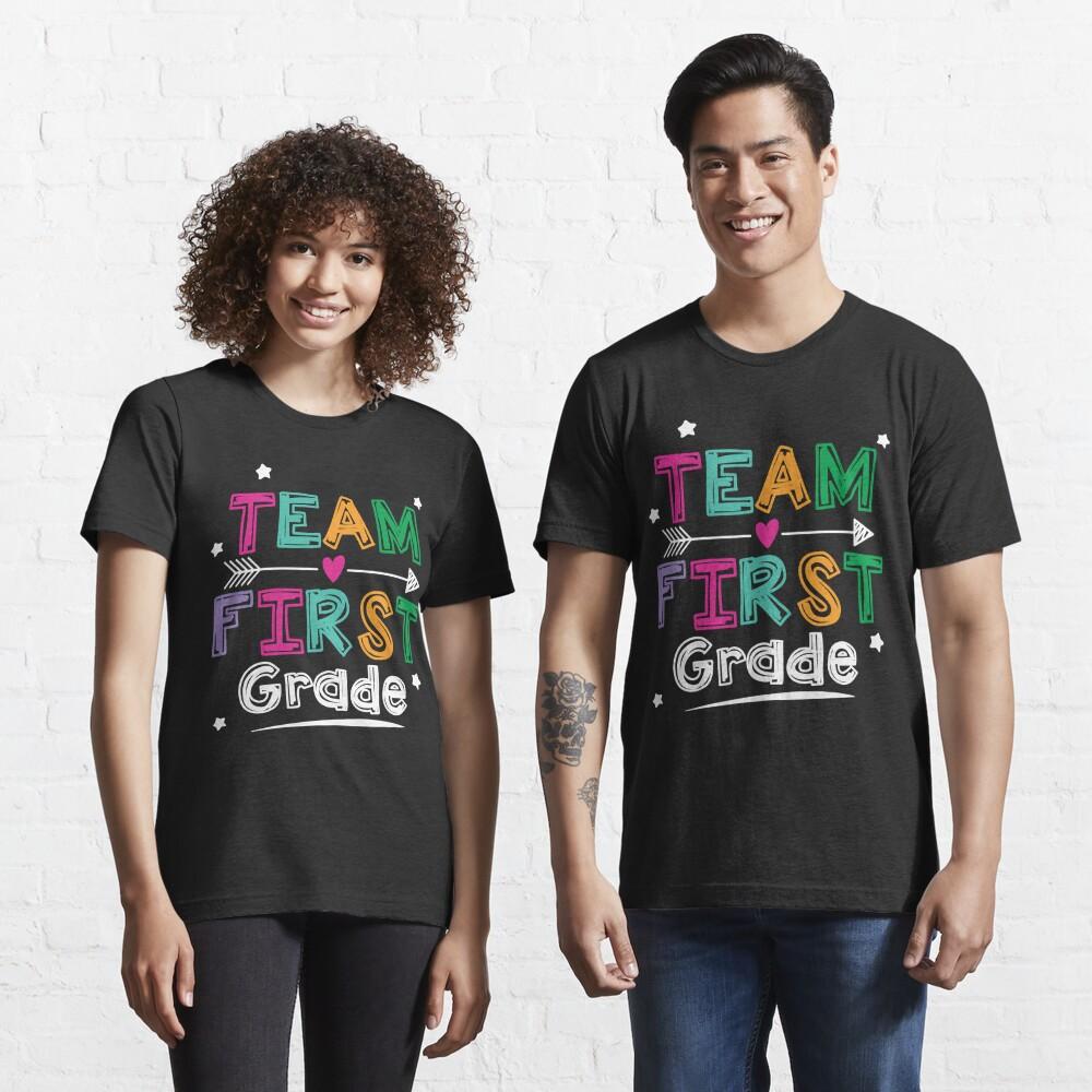 Team First Grade Teacher and Students 1st Grade Crew T-Shirt Essential T-Shirt