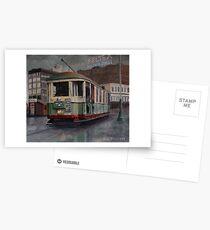 Sydney O-class Tram at Railway Square Postcards