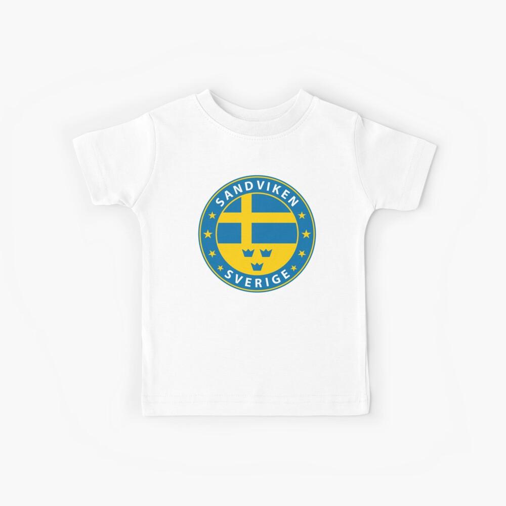 Sandviken, Sandviken Schweden, Sandviken Sverige, Sandviken Aufkleber, Stadt von Schweden Kinder T-Shirt
