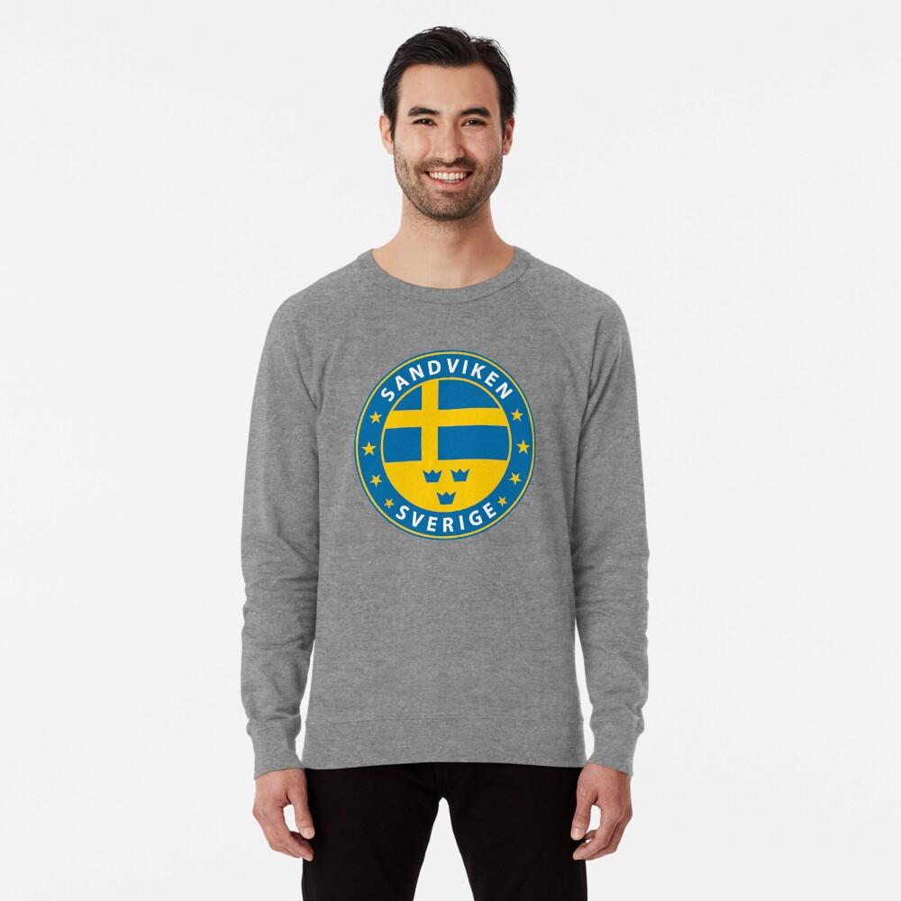 Sandviken, Sandviken Schweden, Sandviken Sverige, Sandviken Aufkleber, Stadt von Schweden Leichter Pullover