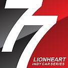 Lionheart Indycar Pillows and Stickers by CartoonHeart