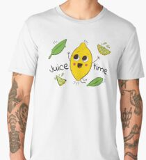 Juice Time  Men's Premium T-Shirt