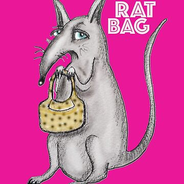 The Ultimate Pink Rat Bag by caratoons