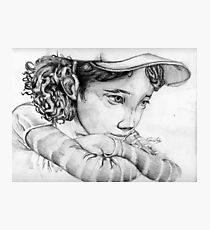Clementine from The Walking Dead The Game Photographic Print