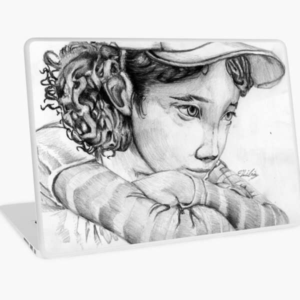Clementine from The Walking Dead The Game Laptop Skin