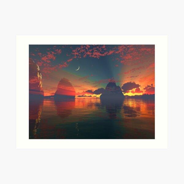 """The One Light"" Art Print"