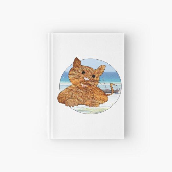 Katze am Meer Notizbuch