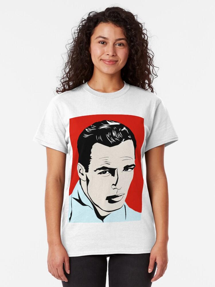 Alternate view of Marlon Brando Classic T-Shirt