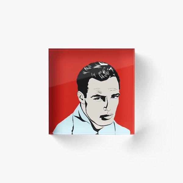 Marlon Brando Acrylic Block