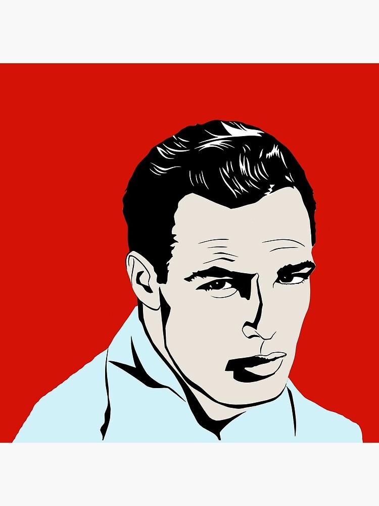 Marlon Brando by richackoon