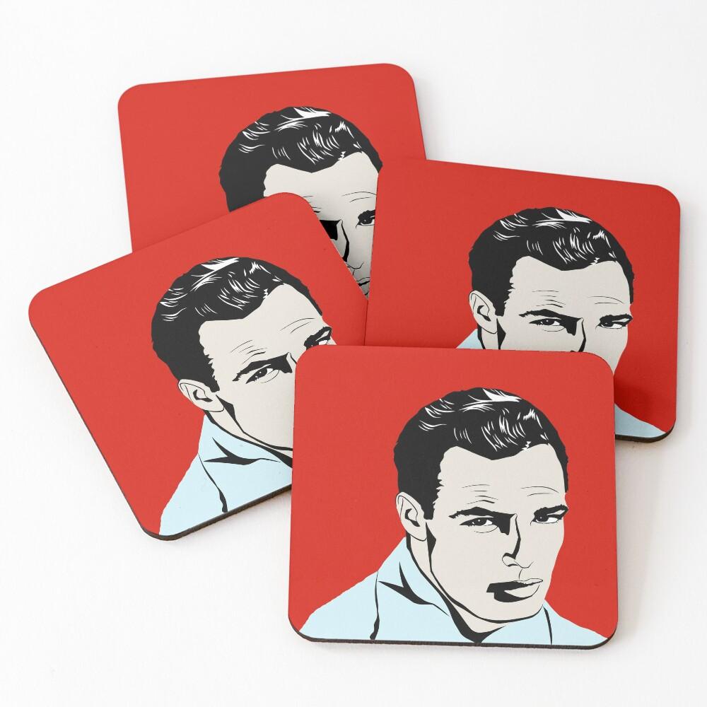 Marlon Brando Coasters (Set of 4)