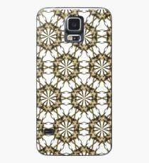 Cactus Spine Pattern - Succulent Geometric Shapes - Cactus Botanic Pattern - Sharp & Spiny Design Case/Skin for Samsung Galaxy