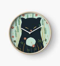 Lovely Ghost cat Clock