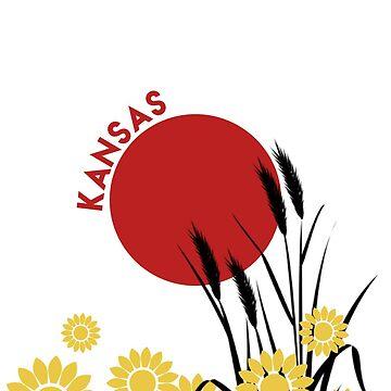 Kansas Wheat by reesebailey