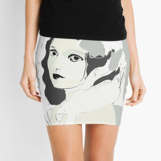 Silent Movie Actress Mini Skirt