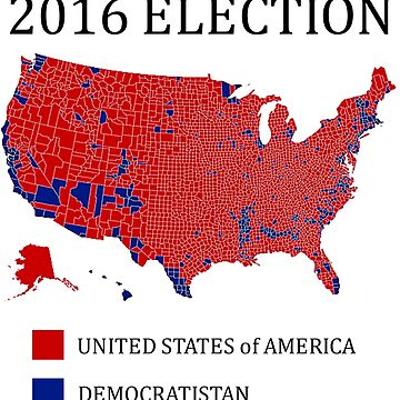 2016 Election / The Map Democrats Don't Want You To See by PureCreations