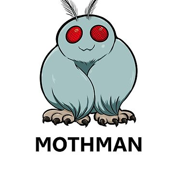 Little Cryptid Mothman by exitStrat