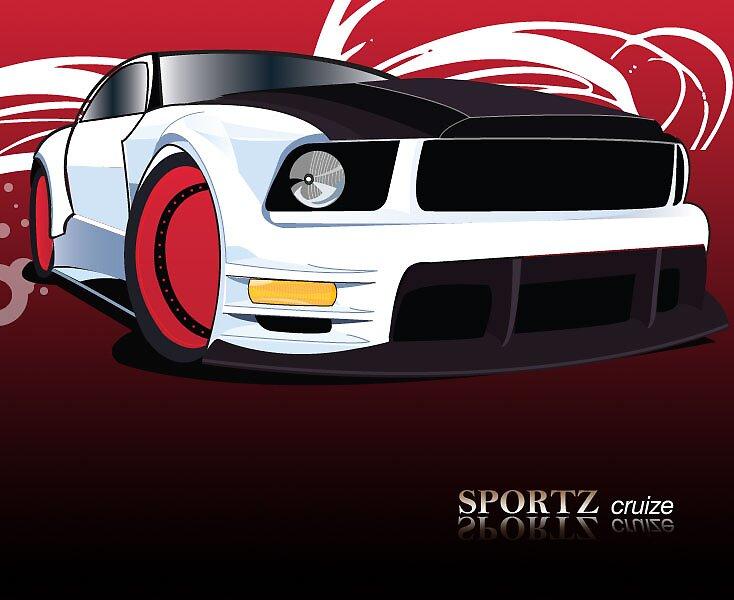 Sporty Car by melaniemj1981