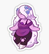Améthyste fleurie Sticker