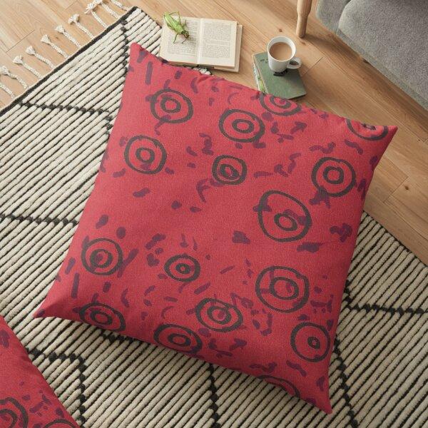 Red Blood Cells Floor Pillow
