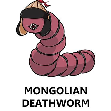 Little Cryptid Mongolian Deathworm by exitStrat