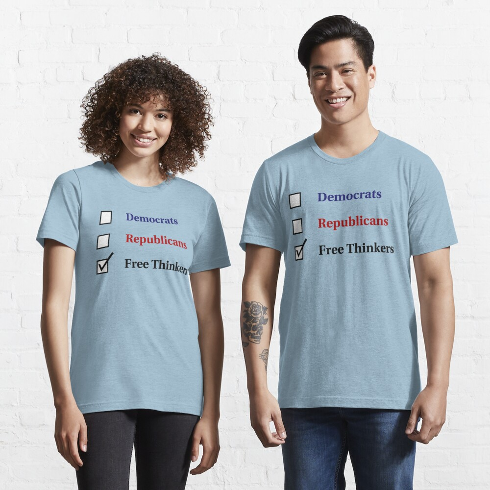 Election Ballot - Free Thinkers for Light T's Essential T-Shirt