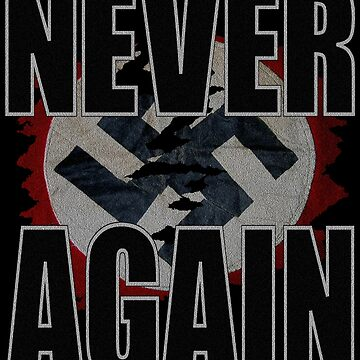 NEVER AGAIN by Paparaw