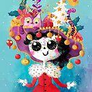 Marikita - the Christmas Crazy Cat Lady by monikasuska