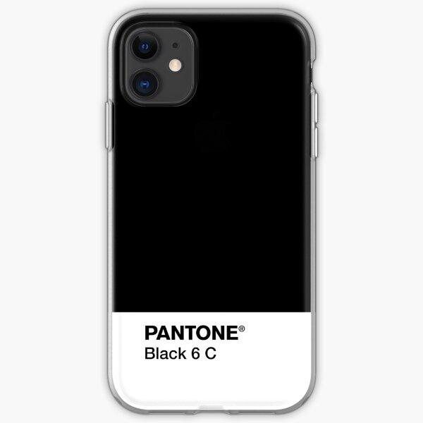 PANTONE NEGRO 6 C Funda blanda para iPhone