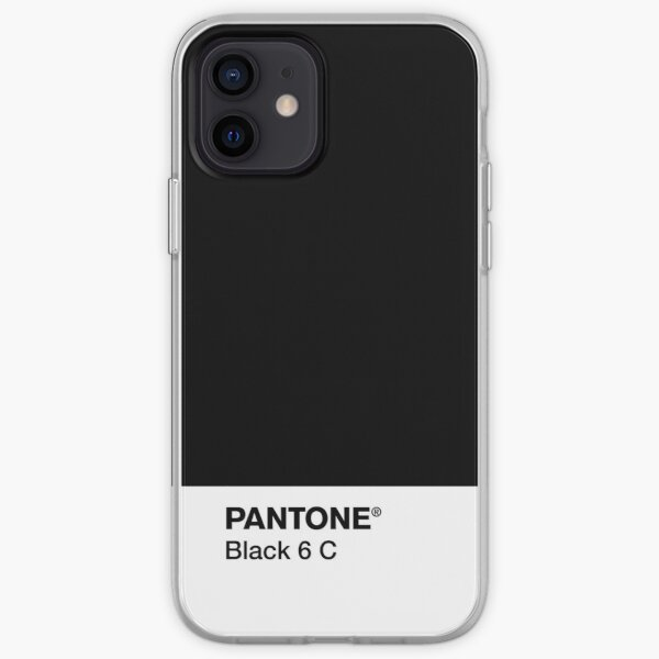 PANTONE BLACK 6 C iPhone Soft Case