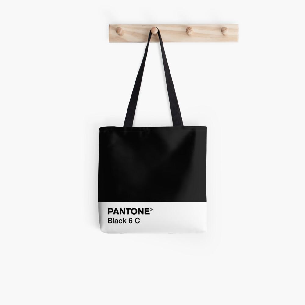 PANTONE BLACK 6 C Tote Bag